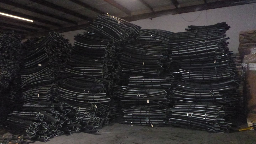 RR3761E 80,000 lbs HDPE Borlink pipe in bales available.