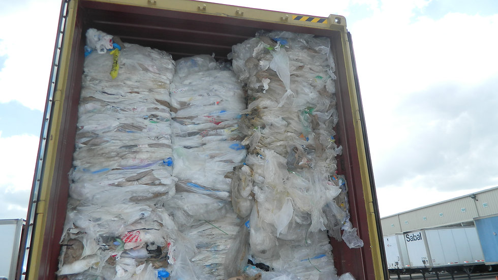 Offer RR3487E 5 loads per month 80/20 HDPE/LDPE grocery film bales