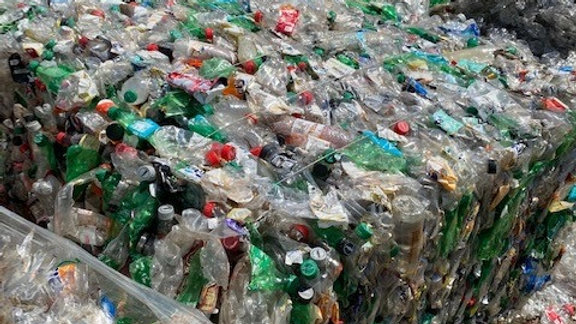 Offer RR4103A 80,000 lbs PET Clear and Green soda bottles in bales fas Memphis T