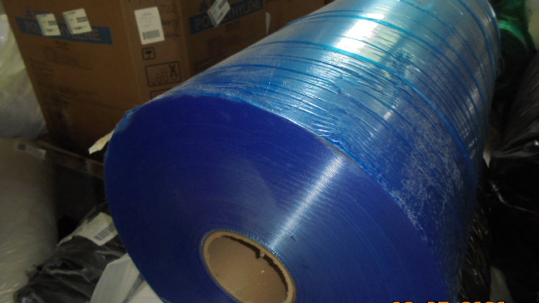 Offer RR3811C 40,000 lbs Post Industrial LDPE mix color film on rolls available