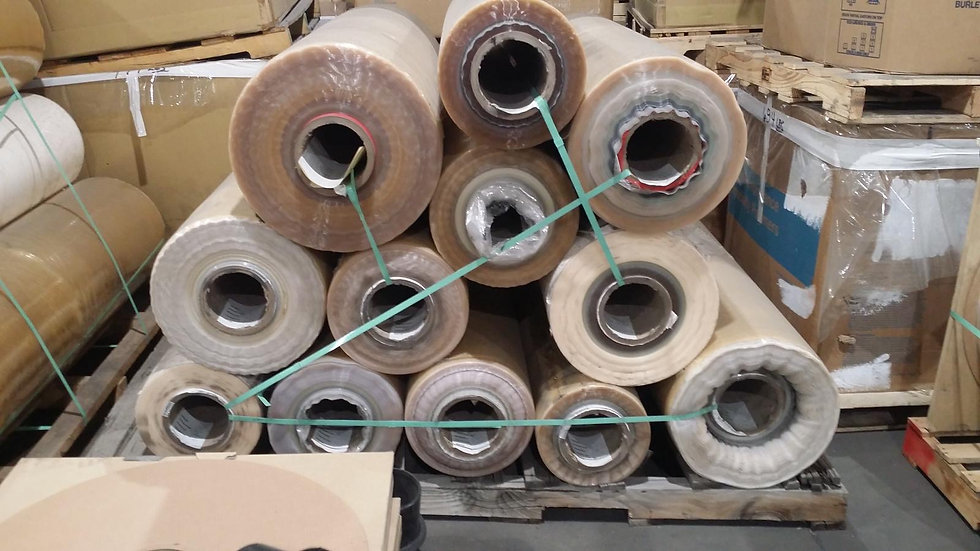 Offer RR3793P 40,000 lbs BOPP Natural tape with adhesive on rolls available $.12