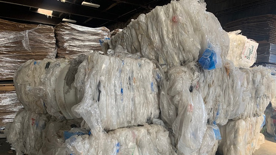 RR4077A 40,000 lbs LDPE clear film in bales FAS Oakland CA