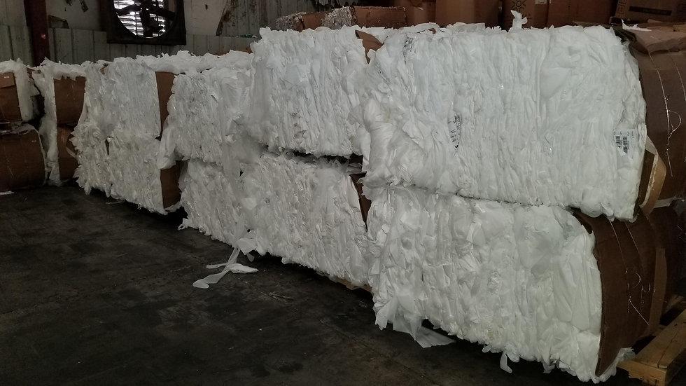 Offer RR4078A 30,000 lbs - PP white non woven in bales 100 melt FAS Unadilla GA