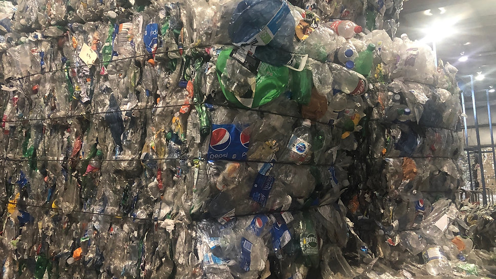 Offer RR4090A 120,000 lbs PET bottles in bales available FAS Toronto rail