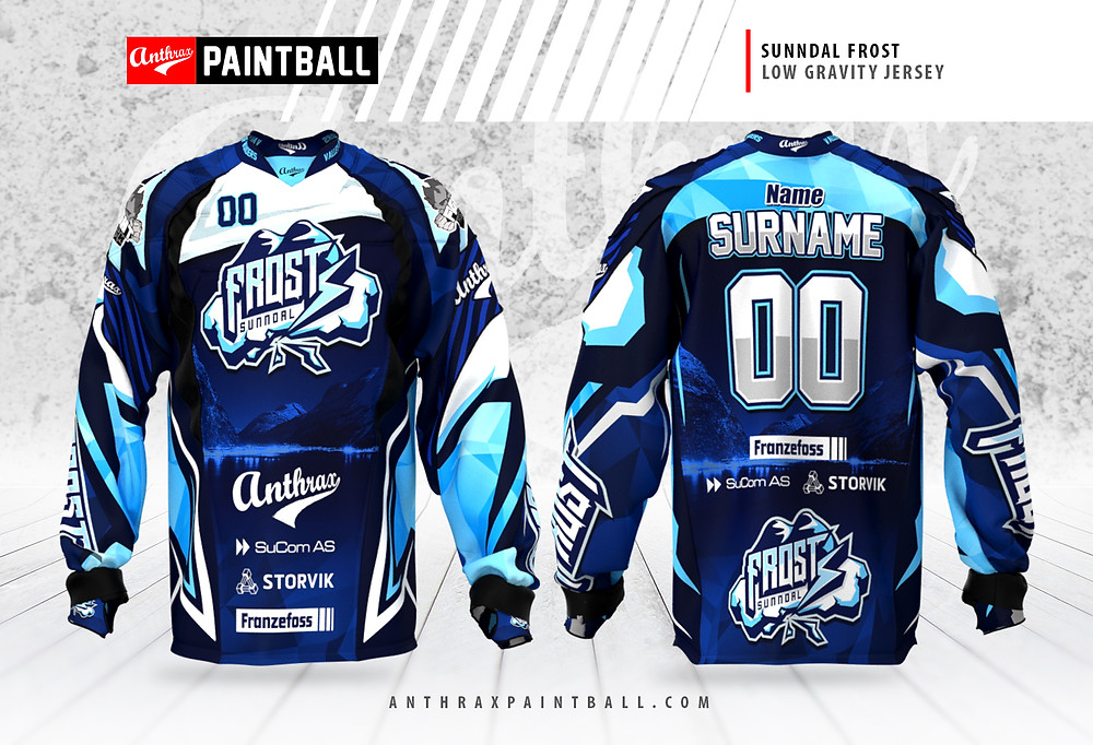 Utra Pro jersey designed for team Frost !