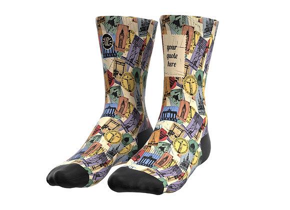 Traveller - Custom quote socks