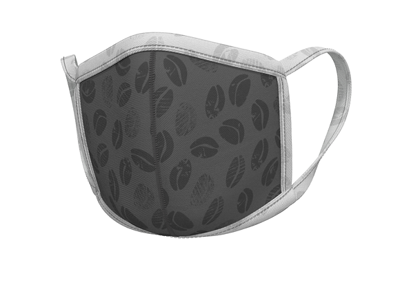 Coffee beans - grey - masks for professionals