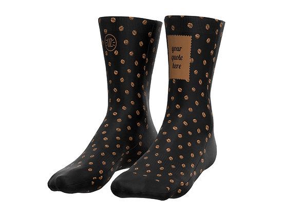 Coffee - Custom quote socks