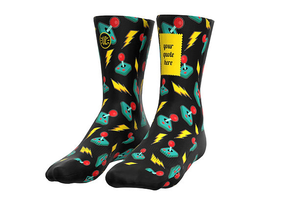 GameTime - Custom quote socks