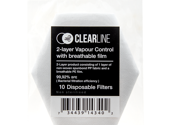 Clearline Disposable filter - 10 pack