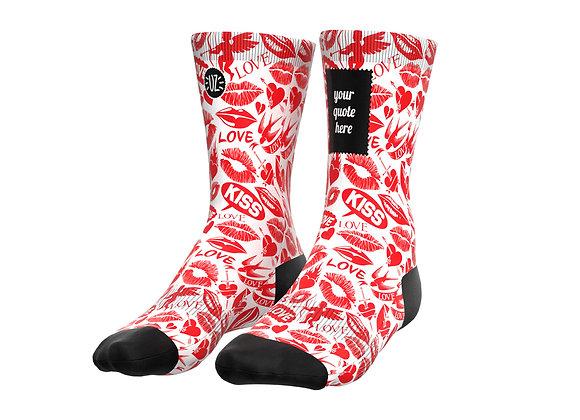 Batchi - Custom quote socks
