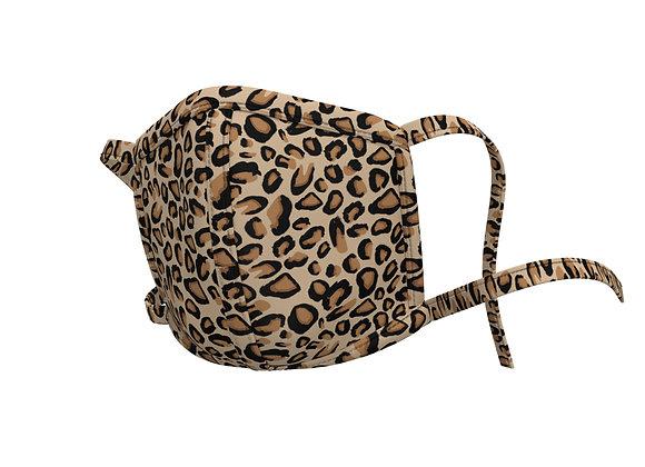 Leopard - Tie back mask