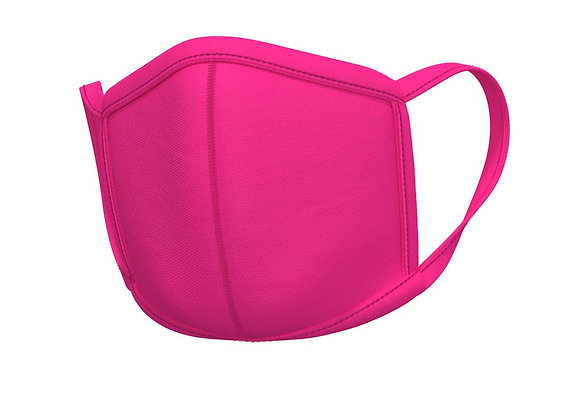Pink Face mask -with matching ear loops