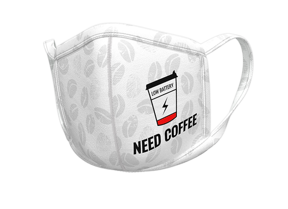 Need coffee - masks for professionals