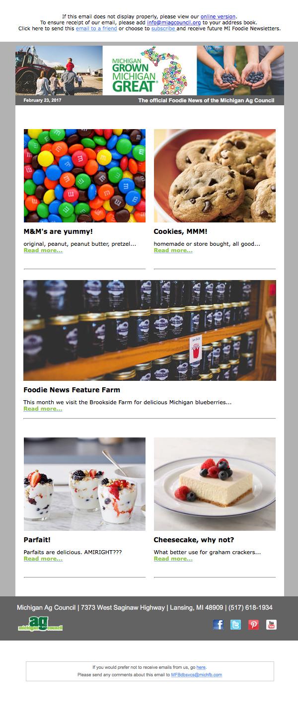 Foodie News (Email)