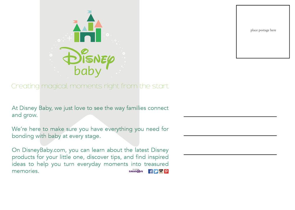 Disney - Postcard (Back)