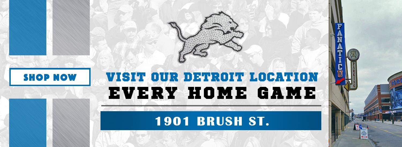 Fanatic U Detroit Location Banner