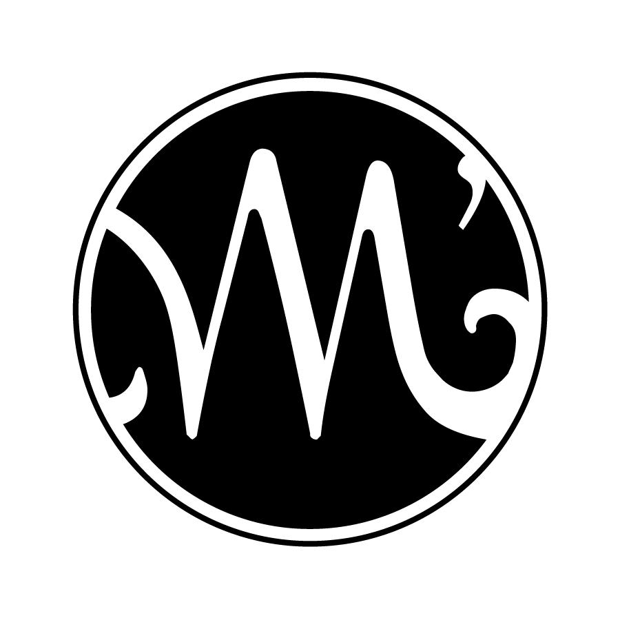 M'Lady's - Logo (B&W)