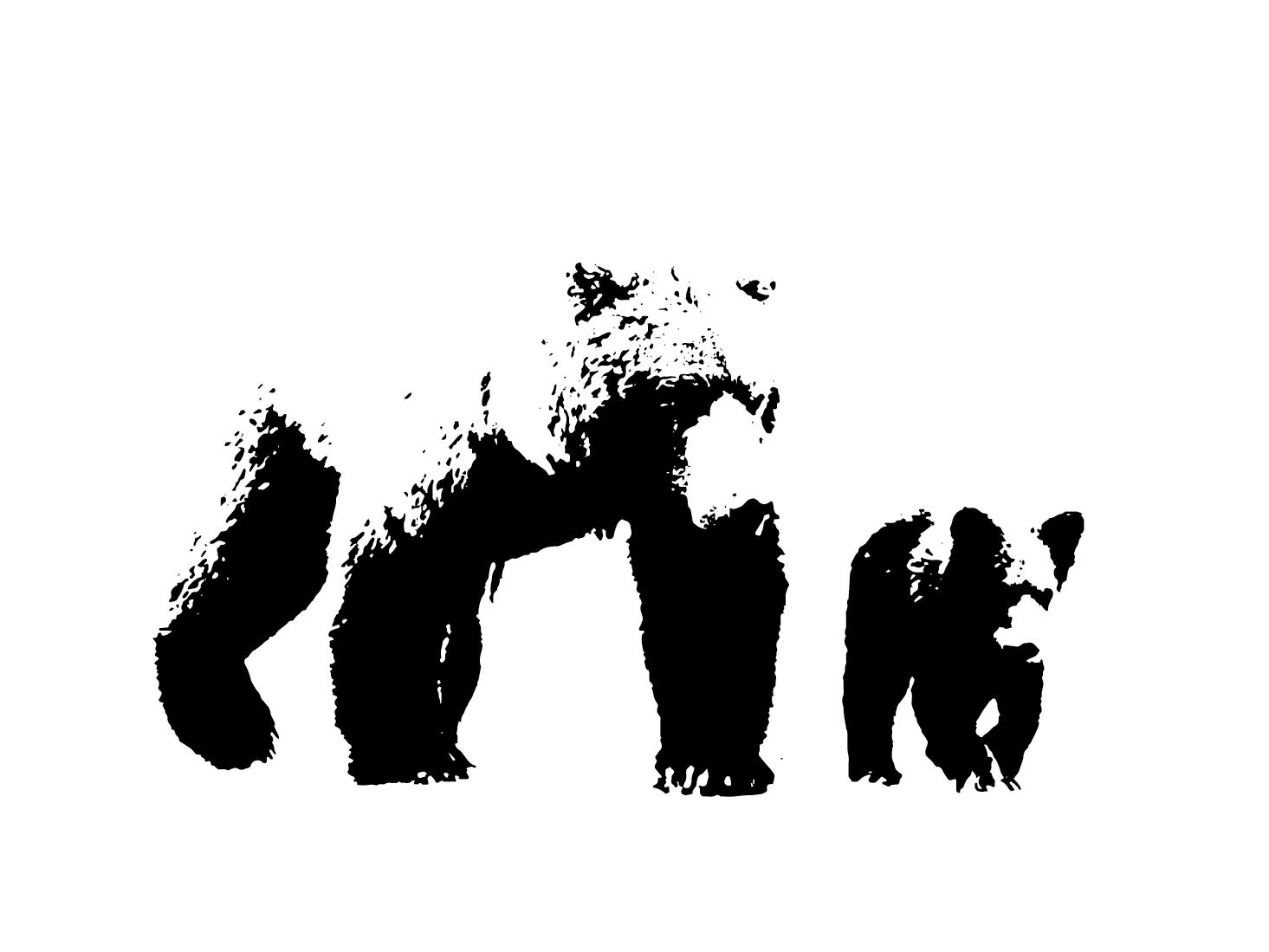 White Space Bear