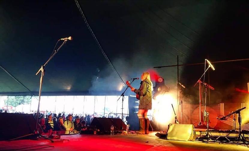 Solo spot for Chagstock Festival 2019