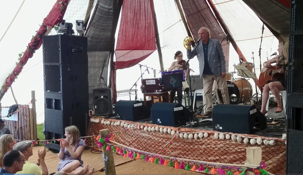 Trio gig with Ashley Hutchings & Ruth Angell