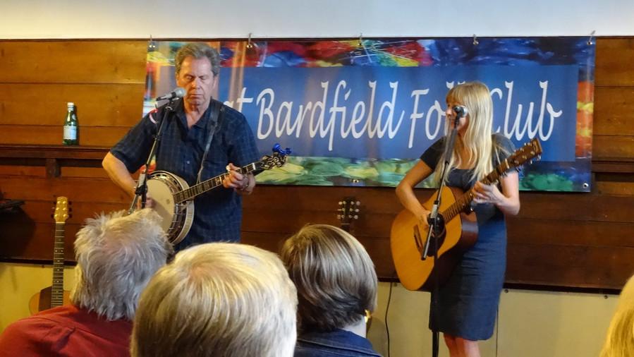 At Great Bardfield folk club