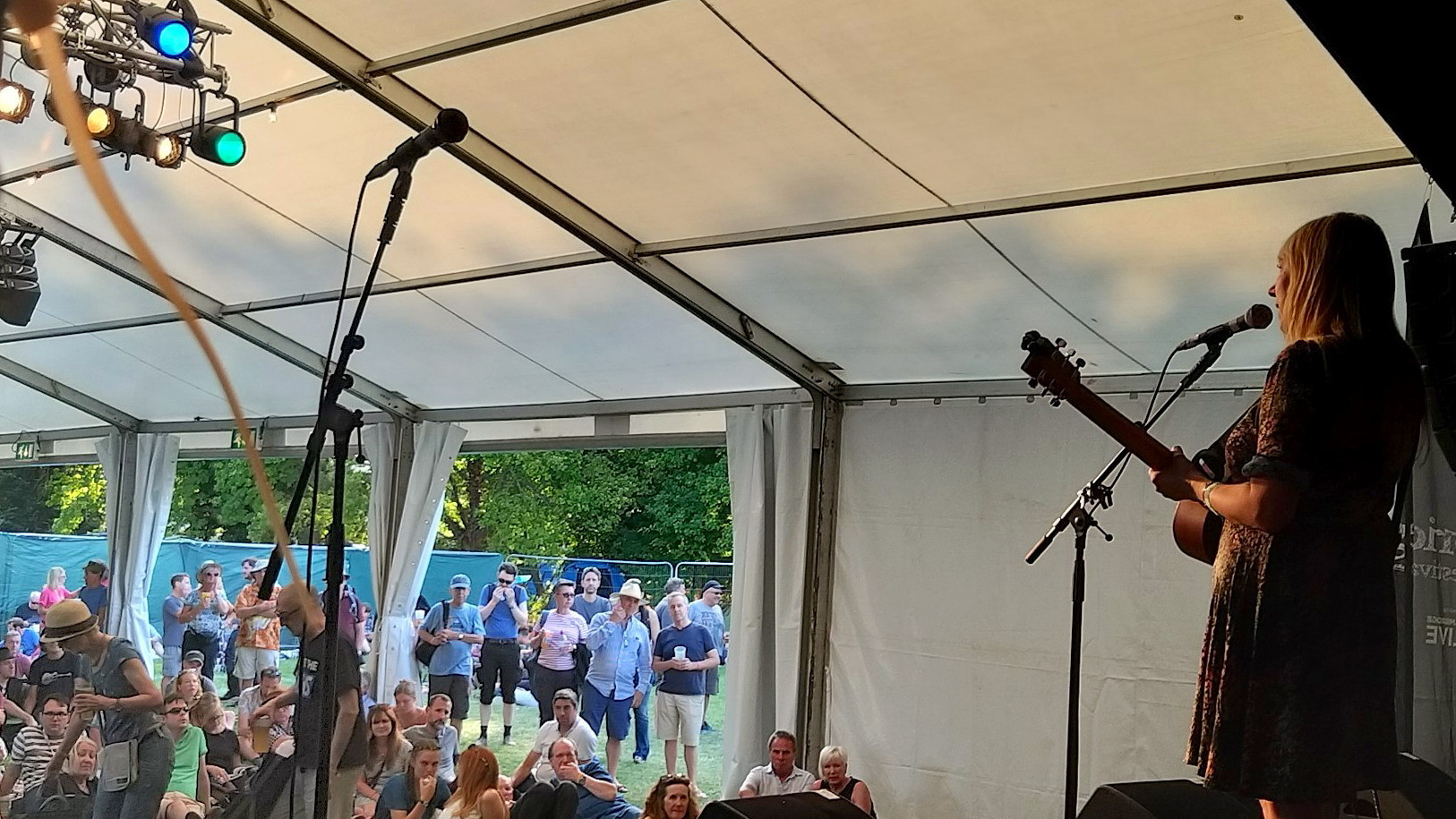 Solo at Cambridge Folk Festival