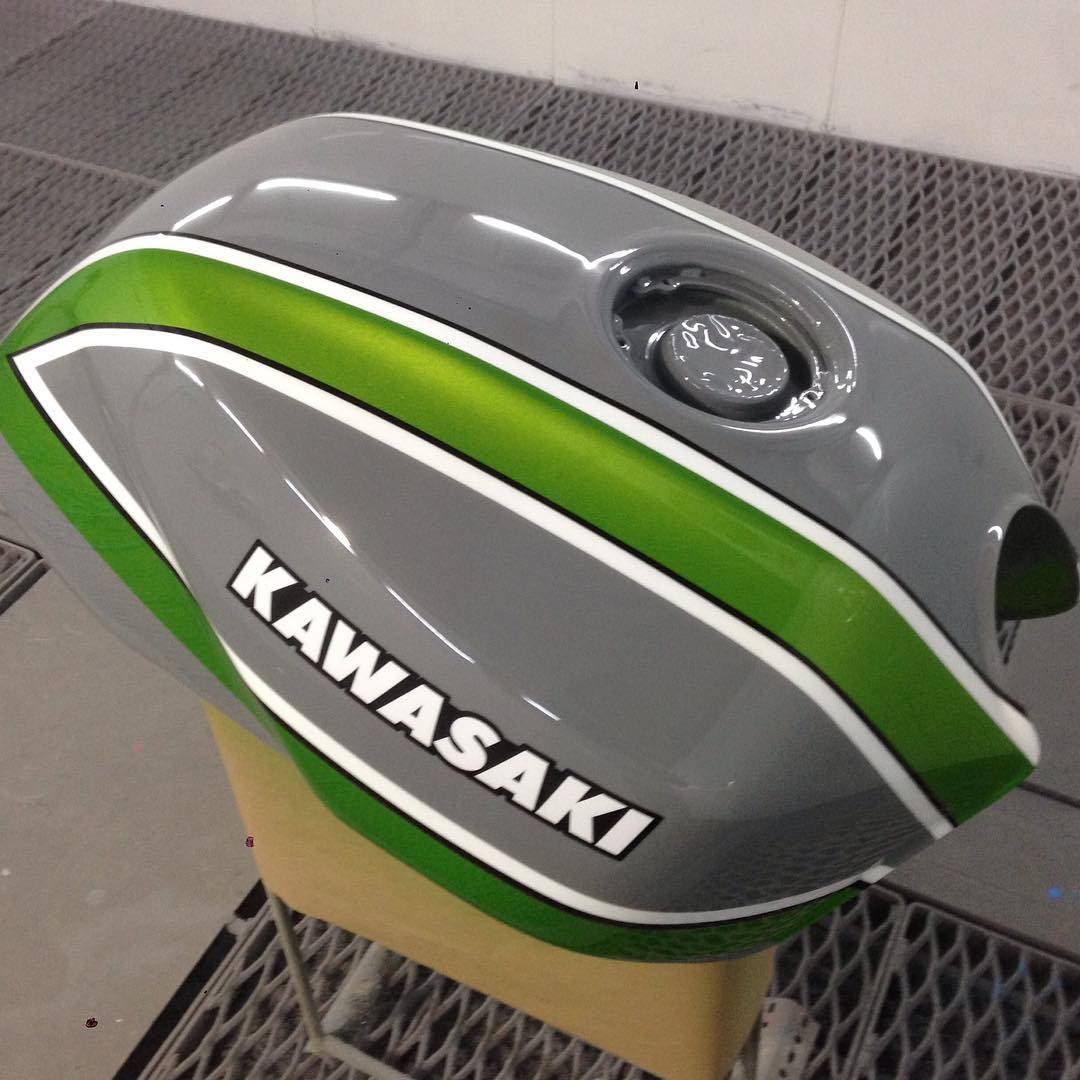 Cutting Edge Paint Shop - Kawasaki ZX12R