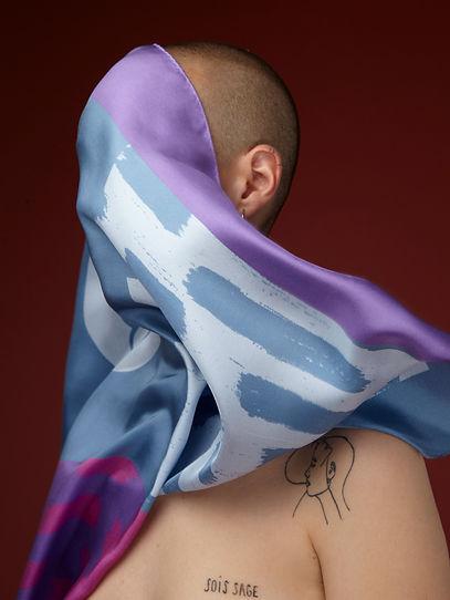 @marionkotlarski melange scarf