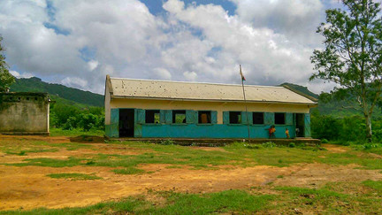 The school before the reconstruction