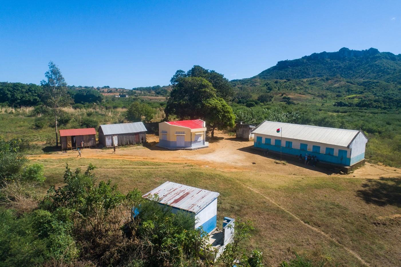 The school complex