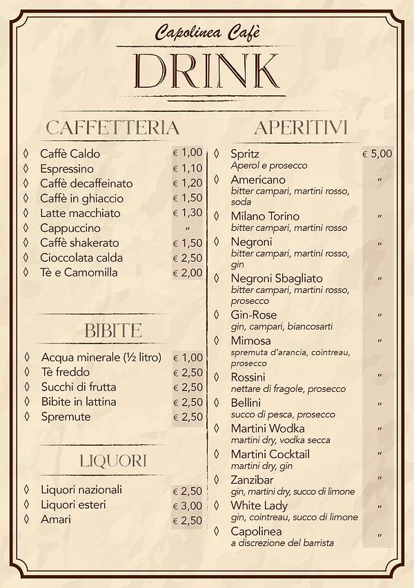 Caffè-drink-Menu Capolinea-Caffè-drink