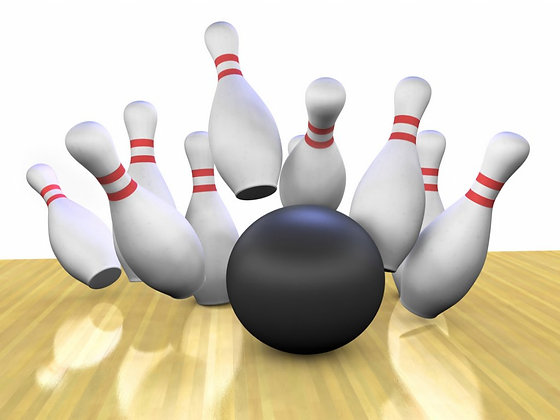 Bowling on Wed 22nd Aug 10.50am