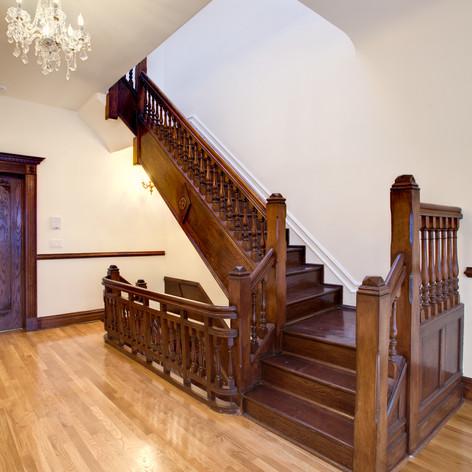 Stairs to Third Floor