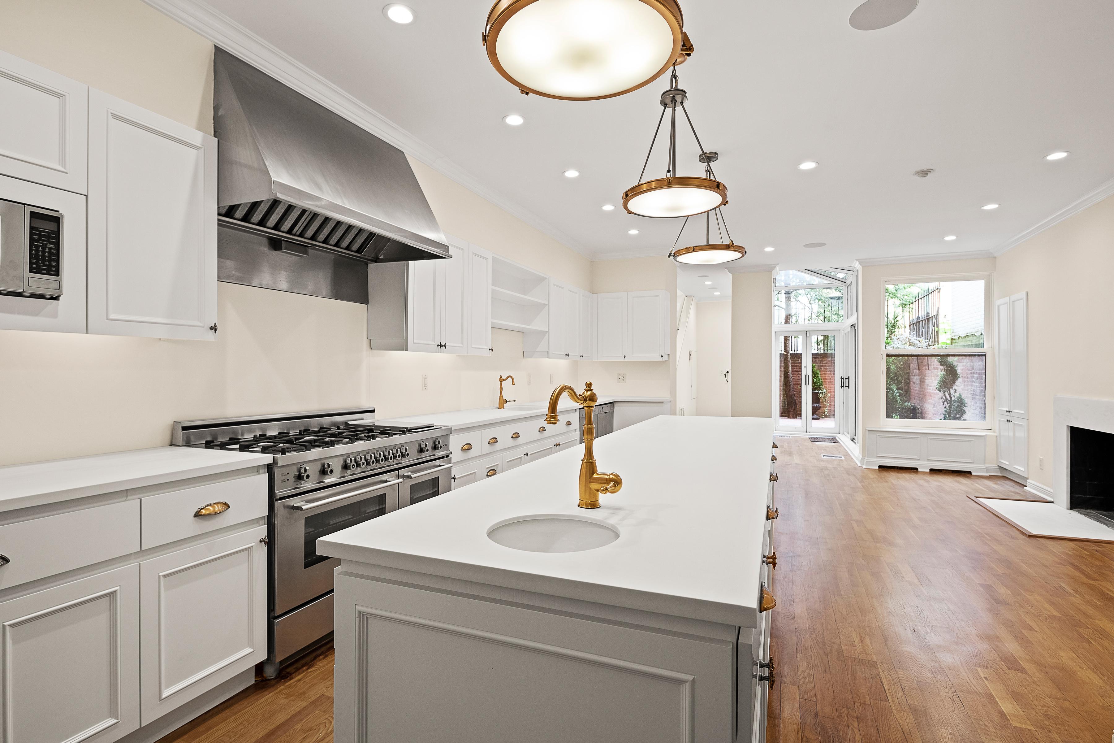 Kitchen with Garden View