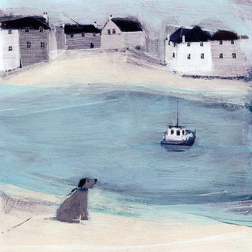 Hannah Cole Waiting Canvas