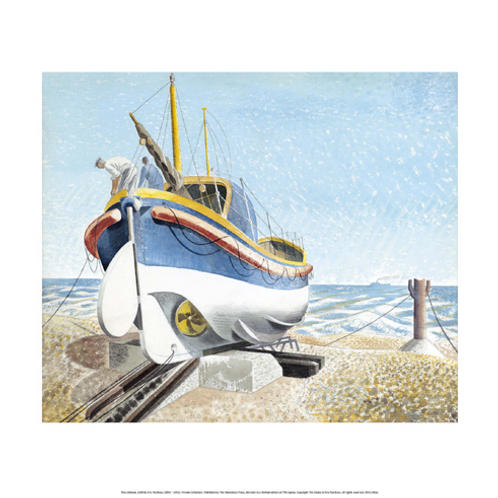 The Lifeboat Limited Edition Print by Eric Ravilious