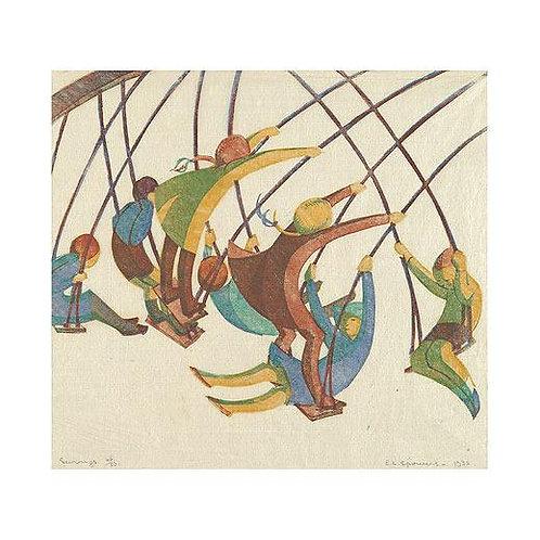 Ethel Spowers Prints Swings