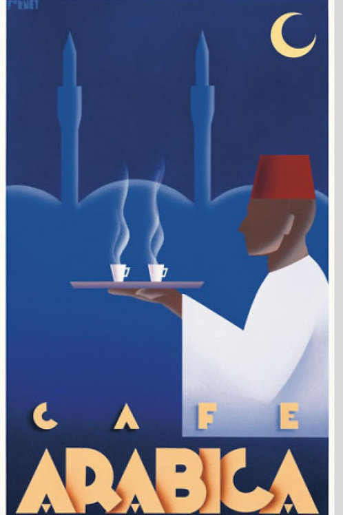 Cafe Arabica Poster by Steve Forney