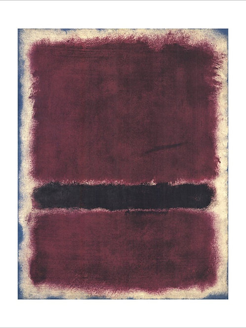 Untitled Print by Mark Rothko