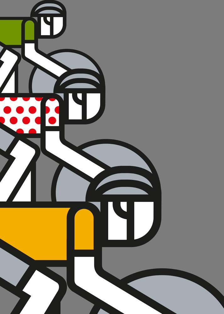 Cycling Art Prints and Posters