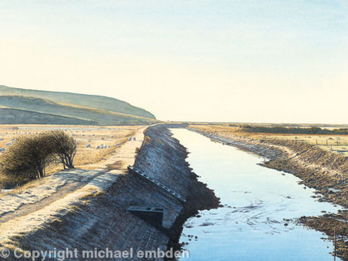 Towpath Art Print by Michael Embden