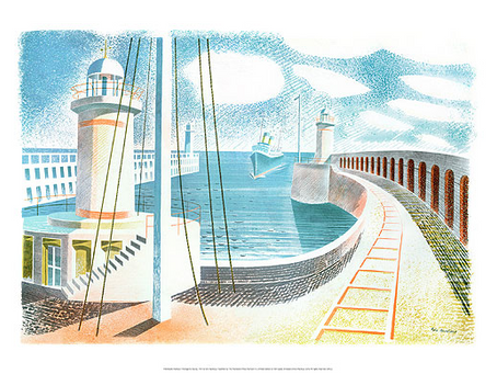 Focus on Eric Ravilious Limited Edition Prints
