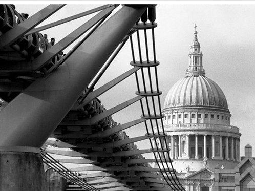 Millennium Bridge Canvas
