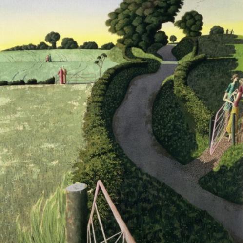 Pagan Rites of Spring Print by Simon Palmer