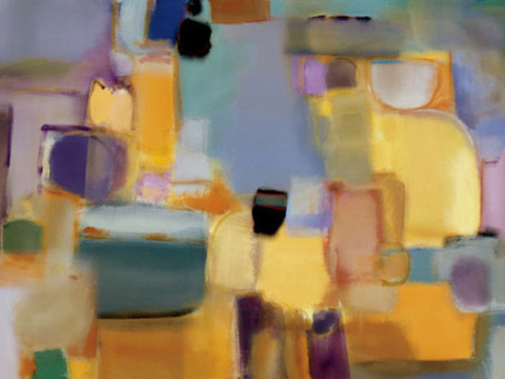 Nancy Ortenstone Abstract Canvases - Perfect for a Contemporary Interior