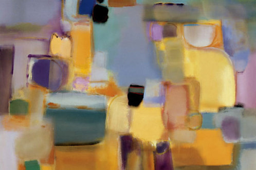 Spring Sonata Canvas by Nancy Ortenstone