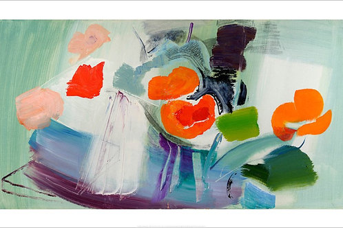 Bright Poppies Print Ivon Hitchens