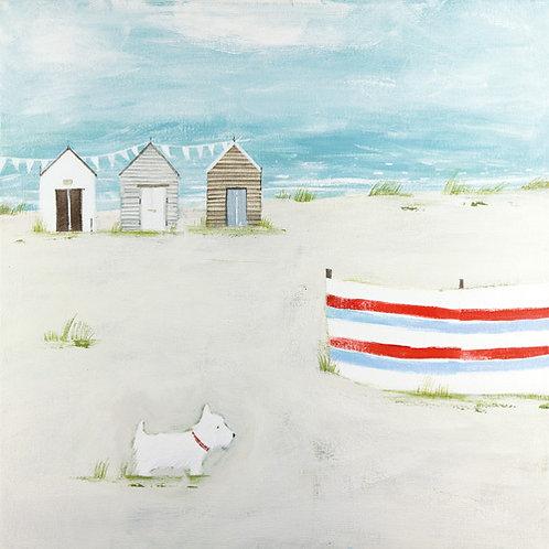 A Day Off Canvas Hannah Cole