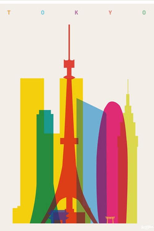 Tokyo Canvas Print by Yoni Alter